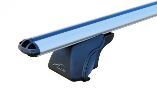 """Багажник """"LUX"""" КЛАССИК на рейлинги с дугами аэро-классик 53мм (1,2м)"""